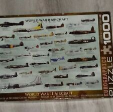Eurographics World War II Aircraft 1000 Pc Puzzle WW2 Planes Aviation