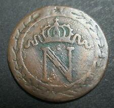 10 centimes à l'N Couronnée 1800 A - NAPOLEON 1er - Faux d'époque RARE