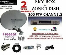 SKY FREESAT PANASONIC SATELLITE RECEIVER DIGI BOX INCLUDING DISH LNB FULL KIT