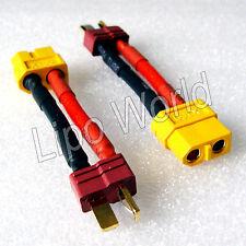 Deans T Stecker auf XT60 Buchse 12AWG !!! Adapter Lade Kabel LiPo Akku