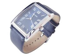 Faux Leather Strap Rectangle Adult Analog Wristwatches