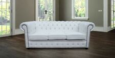 Chesterfield Design Luxury Pads Sofa Couch Seat Set Leather Textile New #243