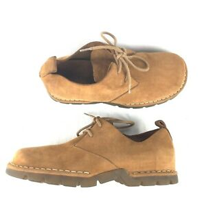 NWOB COLE-HAAN Mens Size 8.5M Country Oxford Tan Suede Shoes