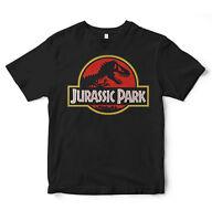Jurassic Park World T Shirt Retro Vintage 90's Logo Movie Geek Trex Dinosaur