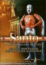 Santo en el misterio de la perla Negra(1974)NEW DVD