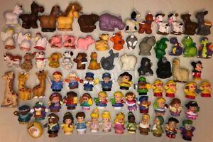 LOT Fisher Price Toy Little People Figure Disney PRINCESS Belle Zoo Farm Animals
