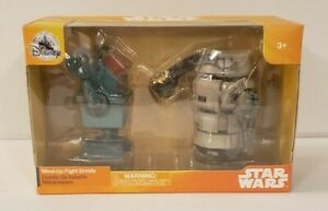 Disney Star Wars Wind Up Fight Droids NIB W/Star Wars Stickers Free Shipping
