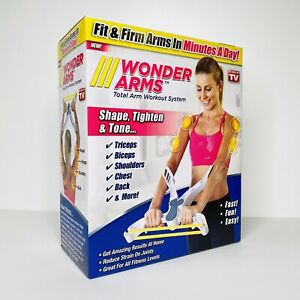Wonder Arms Total Workout System Resistance Training Bands AS SEEN ON TV White