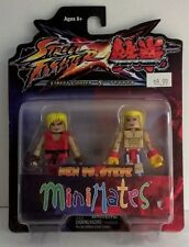 Minimates Street fighter X Tekken Ken vs. Steve