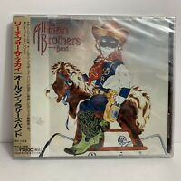 The Allman Brothers Band Reach For The Sky JAPAN CD With OBI SEALED NEW ALBUM