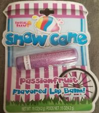 Snow Cone Passionfruit flavored Lip balm~Rare Vintage Collectible