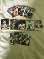 Jose Canseco A's Lot of (21) Different w/ Toys R Us Rookie NMint