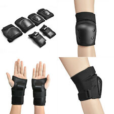 Knee and Elbow Waist Pads for Cycling Skating Mini Biking Riding Fits kids 6-14