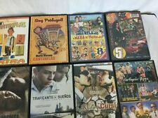 Lot of 8 DVD Movies Spanish Mexican - Comedy, Drama, Musical