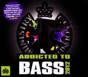 Various Artists-Addicted To Bass 2012 CD Box set  New