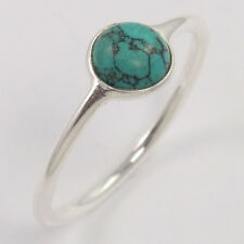 Wholesale Price 925 Pure Sterling Silver Ring Size US 7.5 TURQUOISE (S) Gemstone