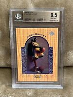 KOBE BRYANT⚡️1996-97 Upper Deck UD3 #19 Rookie BGS 9.5 GEM MINT RC🔥Lakers HOT