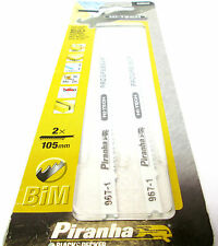 Piranha Black & Decker Hi-Tech Progressor Jigsaw Blades For Metal & Wood 2 x 105