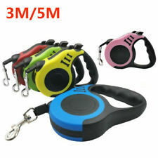 16.5ft Automatic Retractable Dog Leash Pet Collar Automatic Walking Lead
