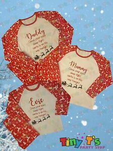Personalised Matching Family Christmas Pyjamas
