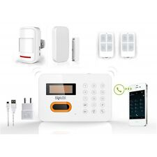 Haus-Alarmanlage Sicherheitssystem kompatibel Festnetz ADSL + Sensor