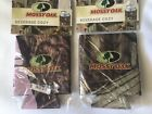 Mossy Oak Beverage Cozy Set Of 2 Man & Women's Outdoors Hunting Fishing