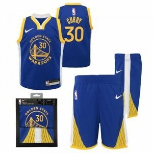 Nike Replica Jersey & Short Set Golden State Warriors Curry 3T Toddler 9Z2T1BBYF