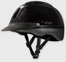 Troxel Equestrian Sport Black Riding English/Western Helmet Child/Adult Small