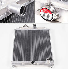 4 Row 62mm Aluminium Radiator For Honda Civic EK EG 1992-2000 CRX DEL SOL 93-97