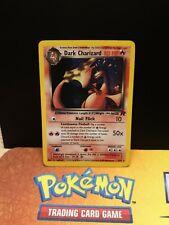 Dark charizard 4/82 Team Rocket Played Condition Holo Pokemon Card