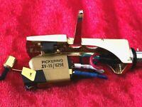 Pickering XV-15/625E Phono Cartridge - new headshell, lead wires, stylus