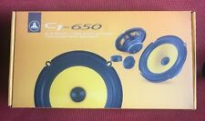 "JL AUDIO C1-650 6.5"" 100W RMS CAR COMPONENT SPEAKERS TWEETERS CROSSOVERS NEW"