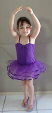 Girls Tutu, Ballet, Fairy Dress, Costume Purple fits Approx girls 6-8yrs
