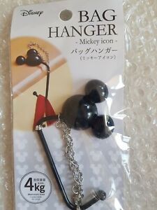 Bag Hanger Mickey Mouse Disney Icon Support 4 Kg