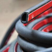 8M*10mm*8mm Car Motor Door Rubber Seal Strip Weatherstrip Seals Hollow
