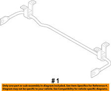 Jeep CHRYSLER OEM 15-18 Renegade Stabilizer Bar-Rear-Stabilizer Bar 68254790AA