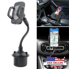 Universal Car 360°Adjustable Gooseneck Cup Holder Mount for Phone Samsung iPhone