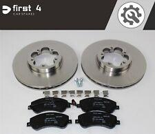 New Ford Transit MK5 2.5TDI Genuine Mintex Front Brake Discs Pair x2
