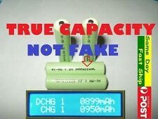 4 x AAA 1.2V TRUE 900mAh (NOT FAKE) Ni-MH NiMH HQ rechargeable battery AU Local
