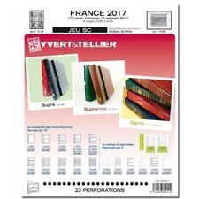Jeu France Yvert  SC 2017 - 1ère Partie