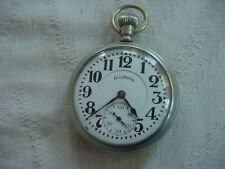 Vintage 23 jewel DR Railroad pocket watch SANGAMO SPECIAL  DEALER DISPLAY