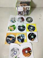 Huge Microsoft Xbox 360 Video Games Bulk Lot of 25 RPG Sports FPS Many More!