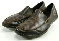 Born Harmon $110 Men's Slip-On Casual Loafers Size 10.5 Leather Brown