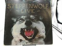 Steppenwolf - Live 2 LP  DSD 50075 Dunhill Stereo USA Vinyl Record VG+ cover VG