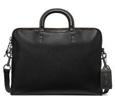 NWT, COACH  68273 Rogue Slim Briefcase, Black