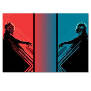 Daft Punk Poster - High Quality Prints