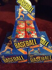 Lot Of 4 1981 Donruss Baseball Wax Packs Guaranteed Unopened And  Unsearched