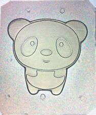 Flexible Mold Cute Kawaii Panda Bear Resin Or Chocolate Mould