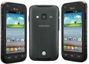 New AT&T Only Samsung Galaxy Rugby Pro I547 Smartphone 4G 8GB Super AMOLED