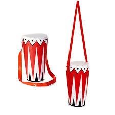 Inflable Bongo Tambor Instrumento Musical 36CM Accesorio Nuevo Elaborado Vestido Accesorio